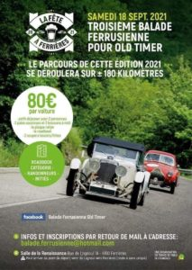 FERRIERES  -Rally Old Timer